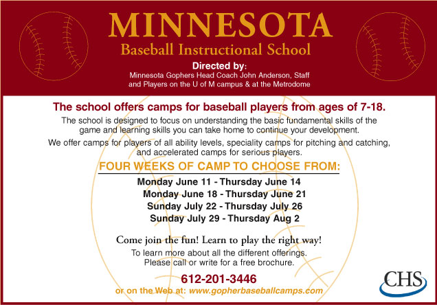The Minnesota SCORE: Summer Sports Camps Page