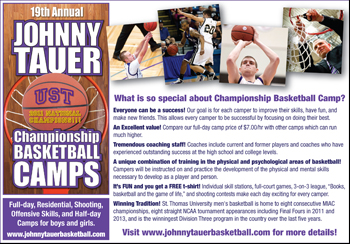 Johnny Tauer Camps