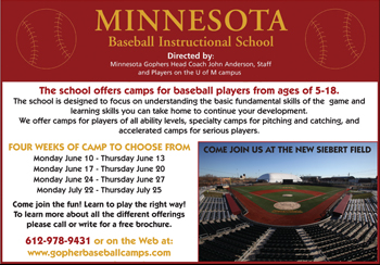 Minnesota Baseball Camps