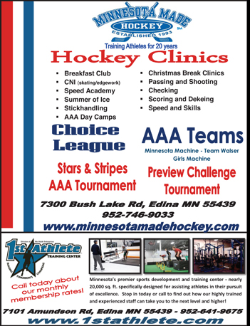 Minnesota Made Hockey Camps