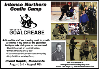 Northern Goalie Camp